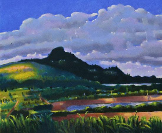 应岐:油画风景,是人类走向诗意生活的心灵通道