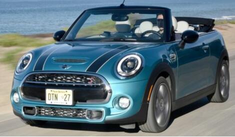 MINI三款车将亮相底特律车展 主打Cooper敞篷版