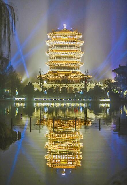 """泉城夜宴有望春节""""开席"""" 大明湖趵突泉等都要亮起来"""