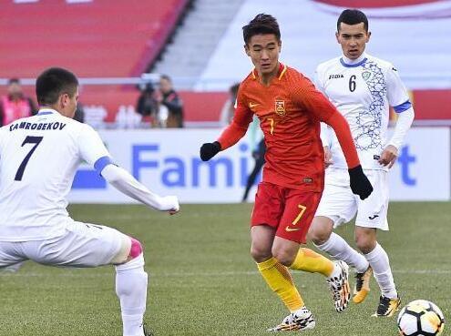 韦世豪击中横梁 U23亚洲杯中国0-1不敌乌兹别克斯坦