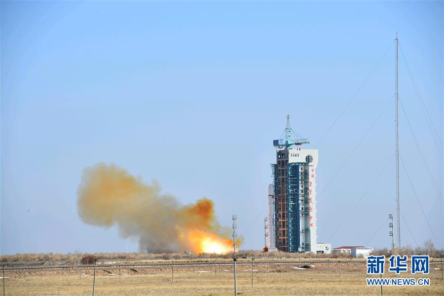中国成功发射陆地勘查卫星三号 卫星进入预定轨道