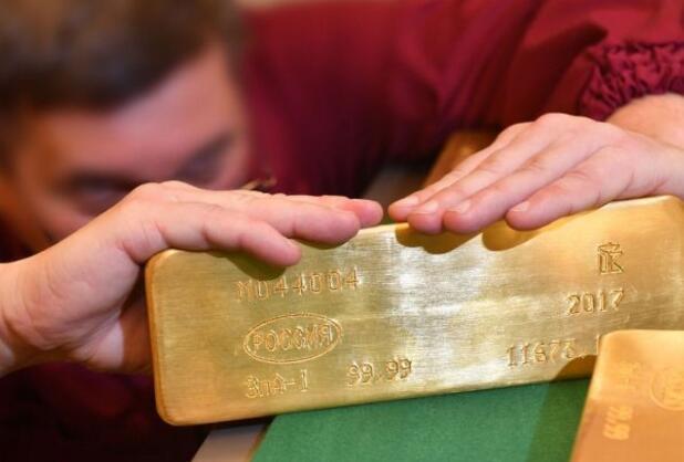 俄罗斯金库曝光1800多吨黄金就存放在这里 战斗民族果然不一样