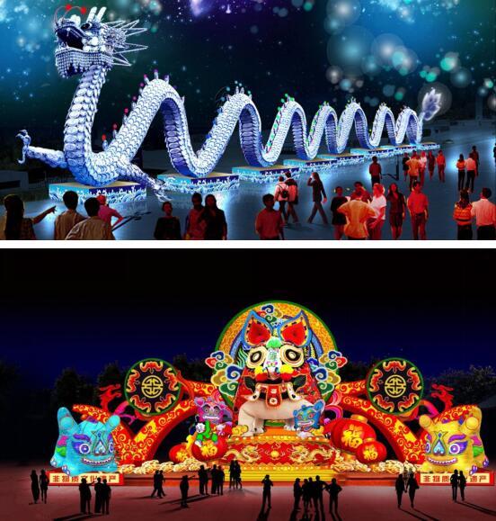 济南最大灯会即将开幕,带你进入一个璀璨的灯火世界