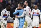 巴黎遭补时绝杀 内马尔缺阵10人巴黎1-2遭曼联旧将里昂绝杀