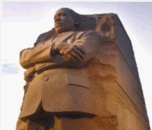 中国雕塑家造马丁·路德·金雕像