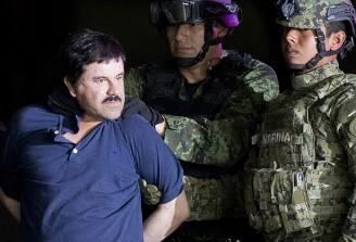 美监狱严守古斯曼专人24小时监视 全世界势力最大的毒枭被引渡至美国