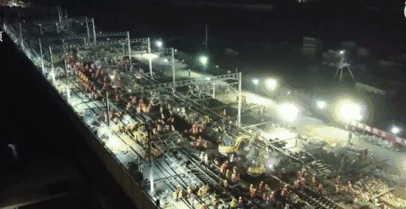 中国工人9小时改造火车站 西方又炸锅对于这情况还是很震惊的