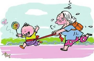 老人带孩子寒假也能健康过