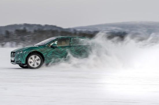 捷豹I-Pace电动车将亮相日内瓦 45分钟充电80%