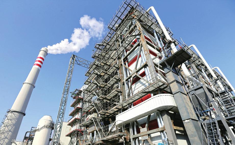 全国首台第三代环保锅炉在济南投用