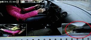 女子驾考被奔驰司机逼停吓懵挂科?真相全在这里