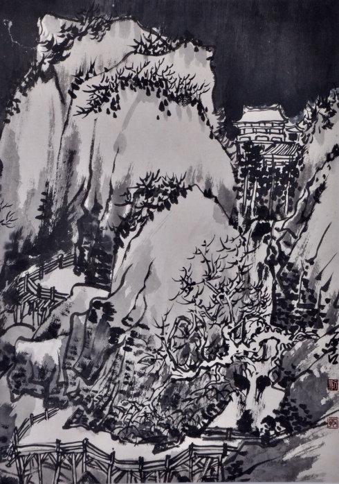 破译道统:石古刘志军山水作品欣赏