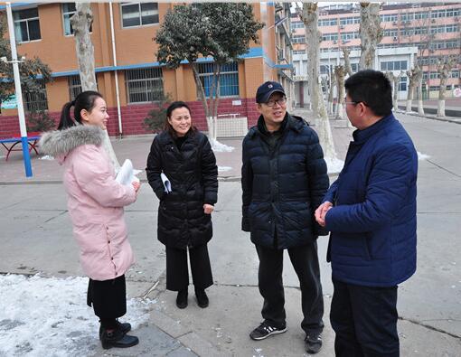 《现代教育》副主编黄海涛到历城职专调研