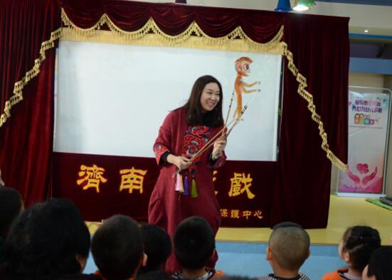感受经典 体会传承——济南市历下区丁佳幼儿园传统文化进校园活动报道