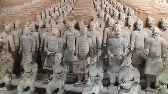 从兵马俑解读中国雕塑艺术