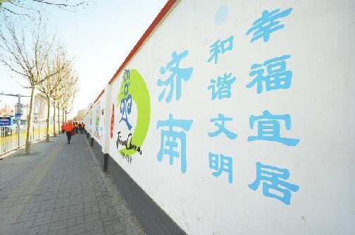 济南:经十路户外广告牌整治 那些不为人知的幕后故事