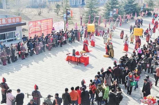 奇绝杂技,五洲美食---第六届蒙山春节祈福庙会即将在沂蒙山龟蒙景区春节开约