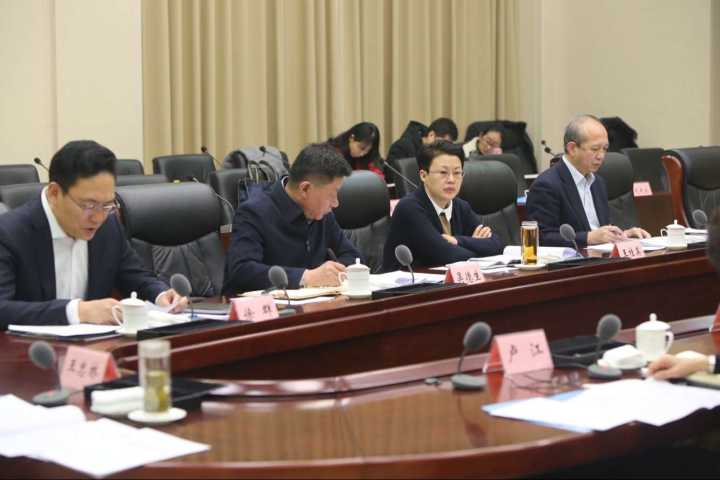 济南市政府党组召开会议 王忠林主持