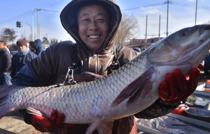 300年大集引数万人抢年货 大鱼最抢手,无鱼不成席是我国千百年来的情结