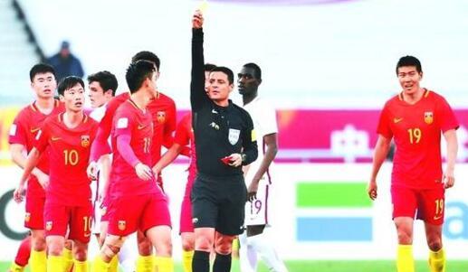 未禁赛!法加尼亮相亚冠 U23中国男足得到7张黄牌和1张红牌