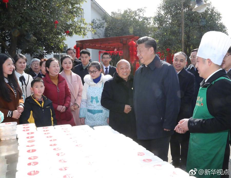 习近平在四川战旗村强调:城市与乡村要同步发展