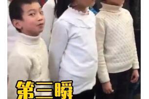 灵魂歌者!合唱太投入翻白眼 小男孩对镜挑眉毛抛媚眼不靠C位靠演技