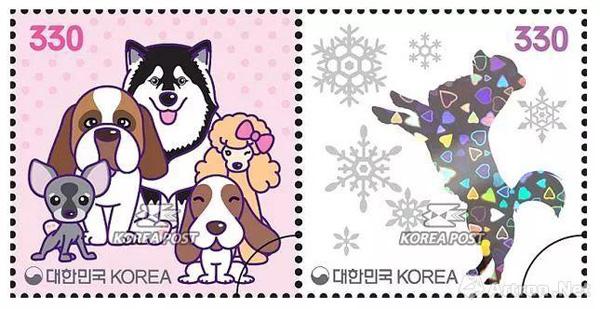 2018狗年邮票全球开花