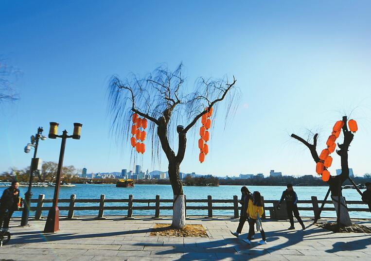 """济南首个""""没有硝烟的春节"""" 空气质量领跑环京津冀28城"""
