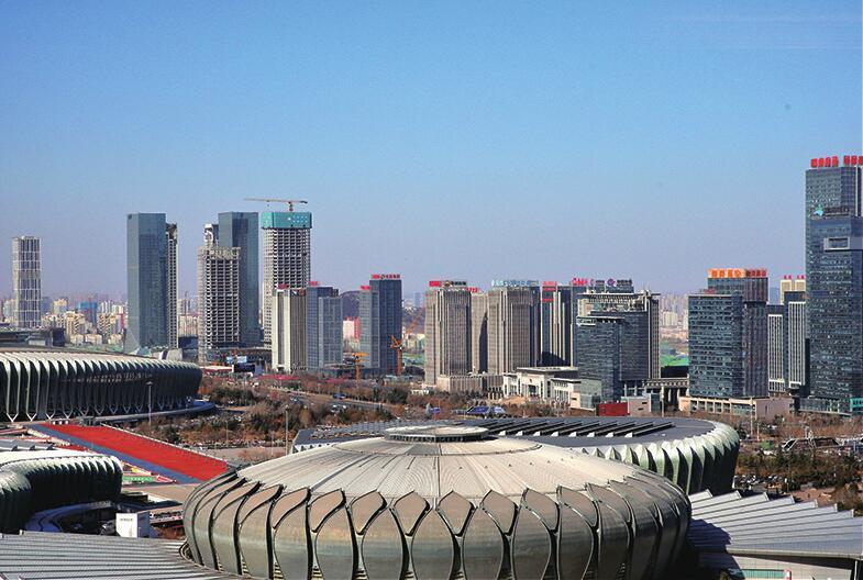 城市新地标 新年展新貌