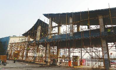 """济南国际园博园提升改造""""不歇脚"""" 确保4月底免费开放"""