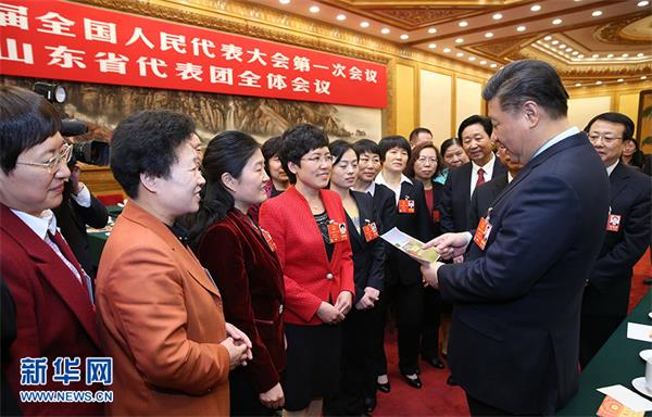 习近平参加88必发老虎机客户端代表团审议
