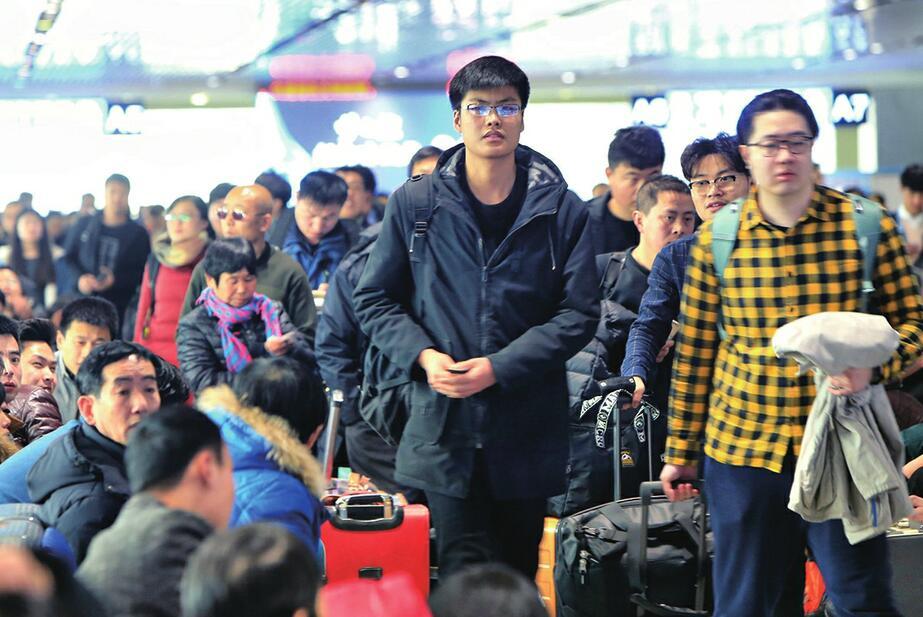 2018年春运落下帷幕 其间济南西站发送旅客103.5万人次
