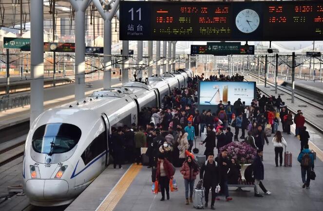 2018铁路春运圆满收官:全国铁路共发送旅客3.82亿人次!