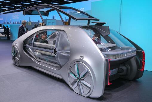 未来出租前瞻! 雷诺EZ-Go自动驾驶新型概念车亮相