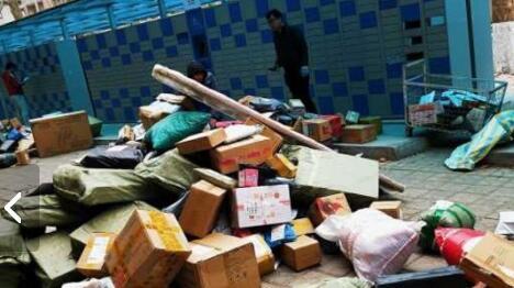 济南各大高校陆续开学 校园热闹起来快递堆积如山