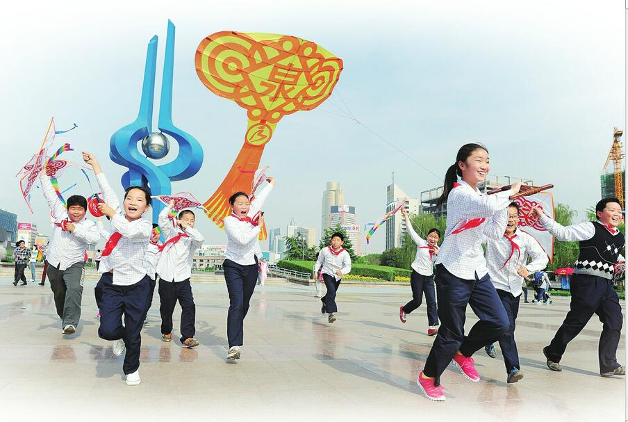 济南市趵突泉小学培养骄傲的中国人