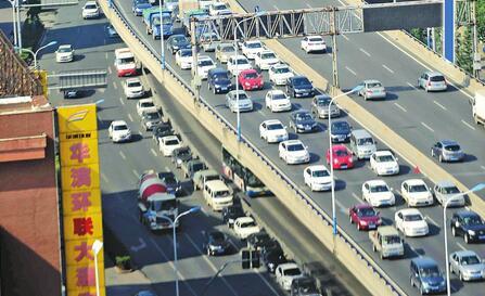 玩北京赛车违法吗:济南治堵高峰期拟禁外地车上高架_26日前面向社会征求意见