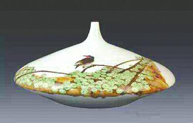 景德镇陶瓷艺术全新亮相康博会