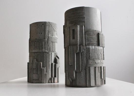野兽派混凝土雕塑