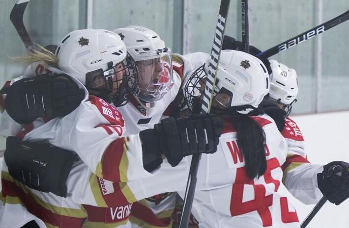 1:2!深圳冰球队获亚军 去年成立宣布正式加盟加拿大女子冰球联赛