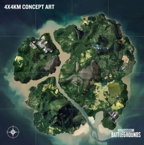 绝地求生4x4地图资源位置分布 吃鸡4x4地图枪械资源刷新点位置