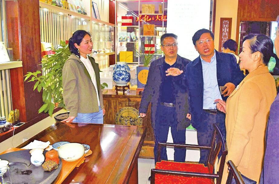 济南湘西扶贫协作渐入佳境 湘西州供销社一行来济南茶叶集团学习