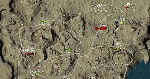 绝地求生4x4新地图savage测试资格申请网址 吃鸡激情沙漠地图资源点分布一览