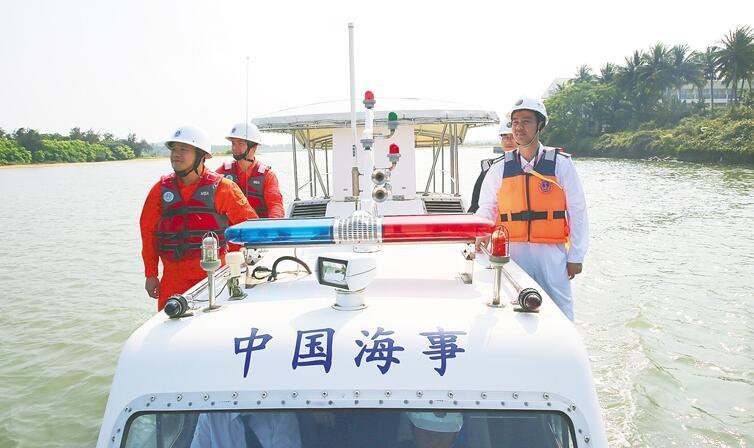 海事部门开展博鳌年会服务用船适航性检查
