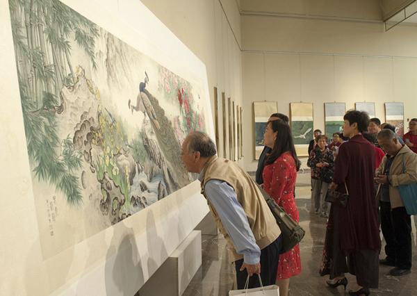 """""""丹青薪传""""许小峰、弭金冬从艺60年中国画作品展 在济南市美术馆隆重开幕"""