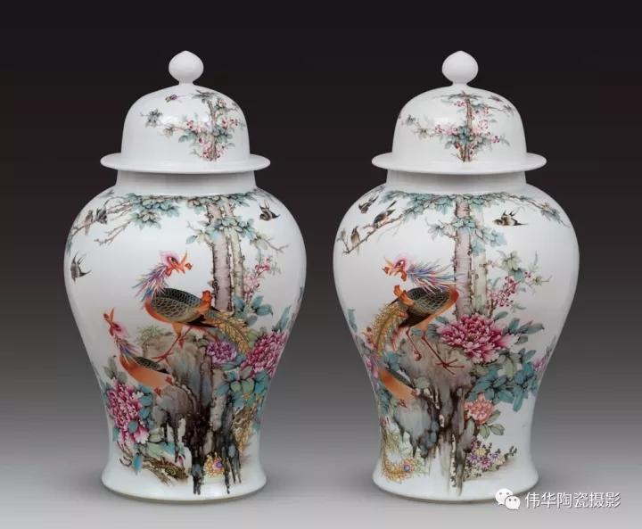 汪小霞陶瓷艺术 国画韵味里的雅俗共赏