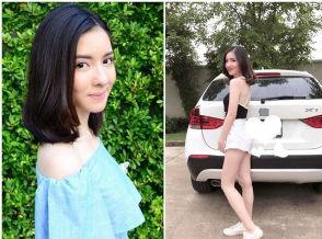 新闻中心 文娱  泰国女星车祸身亡,车撞到树上场面惨烈!