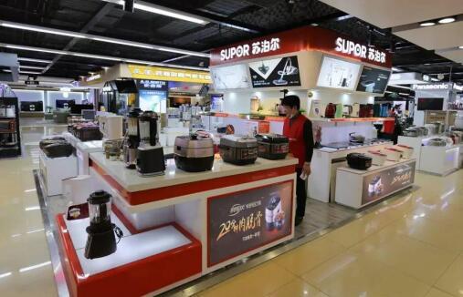 智慧零售赋能消费升级 东平苏宁易购重装开业 全场景购物受追捧
