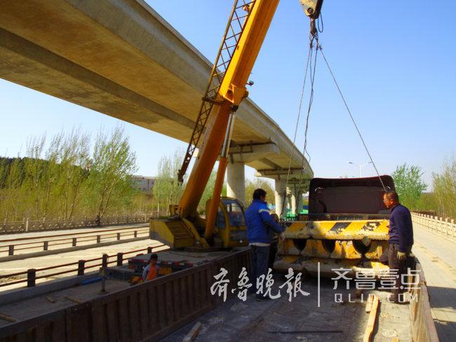 """""""地铁梦""""更近了!济南轨交R1高架线下围挡开始拆除"""