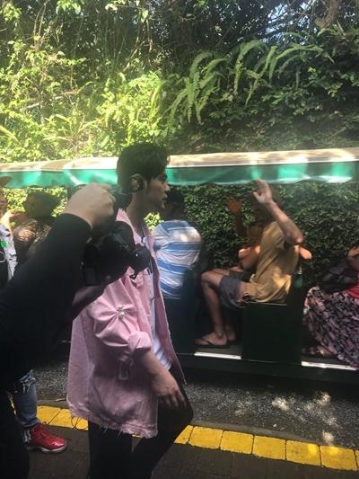 瘦了!网友逛野生动物园偶遇周杰伦